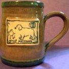 Great Pyrenees Cavern Canine Dog Breed Ceramic Clay Mug Cup McCartney - NEW