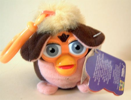 Furby Clip On Hooked Plush Displayed Only Condtion