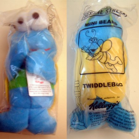 Sesame Street TWIDDLEBUG Twiddle Bug NIP