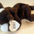 Ty Beanie Beenie Baby BRUNO DOG Retired Collectible