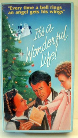 VHS Movie It's a Wonderful Life Jimmy Stewart