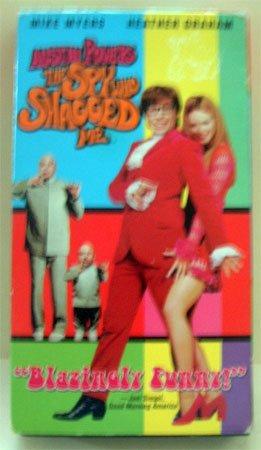 VHS Movie Austin Powers The Spy Who Shagged Me