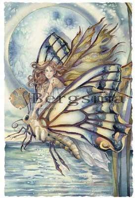 Jody BERGSMA Art FAIRY Print : Chrysalis