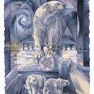 Jody BERGSMA Art Card Print : In Following Dreams...Destiny Is Found