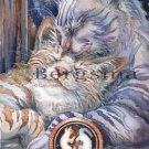 Jody BERGSMA Art Card Print : Lean On Me You've Got a Friend