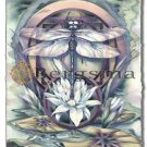 Jody BERGSMA Art Card Print : Mystery There Is No End Without A New Beginning