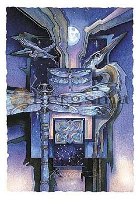 Jody BERGSMA Art Card Print : Swamp Magic Transformed By Dreaming