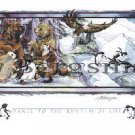 Jody BERGSMA Art Card Print : Dance to the Rhythm Of Life