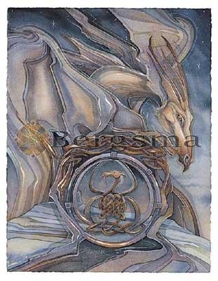 Jody BERGSMA Art Card Print : Pendragon Rising