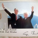 VINTAGE PHOTOGRAPH 11 : President Bush Signed Publicity Photo