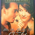 DVD Movie CHOCOLAT Johnny Depp Fantasy Love Story
