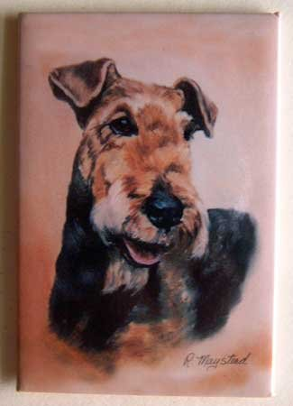 Dog Breed Full Backed Quality Magnet - Maystead - NEW AIT