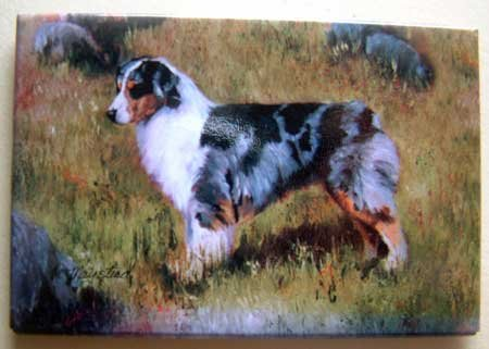Dog Breed Full Backed Quality Magnet - Maystead - NEW AUS2