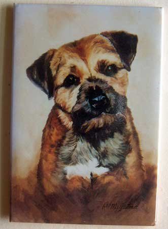 Dog Breed Full Backed Quality Magnet - Maystead - NEW BOR1