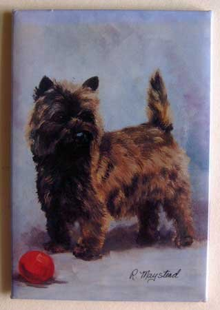 Dog Breed Full Backed Quality Magnet - Maystead - NEW CATS3