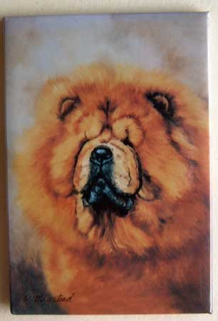 Dog Breed Full Backed Quality Magnet - Maystead - NEW CHO3