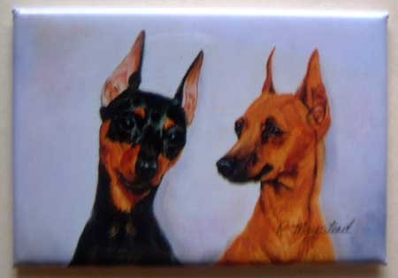 Dog Breed Full Backed Quality Magnet - Maystead - NEW MIP4