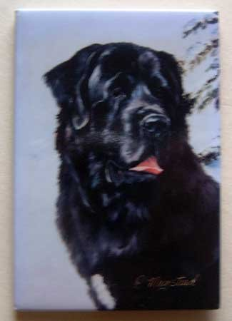 Dog Breed Full Backed Quality Magnet - Maystead - NEW NEW1