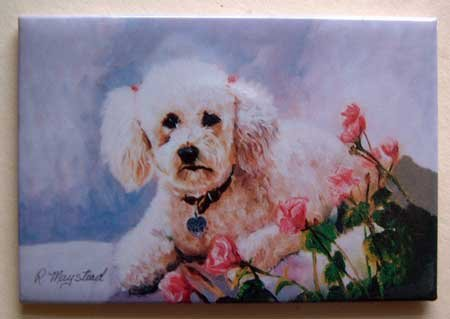Dog Breed Full Backed Quality Magnet - Maystead - NEW POD16