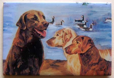 Dog Breed Full Backed Quality Magnet - Maystead - NEW RCB4