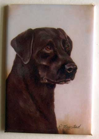 Dog Breed Full Backed Quality Magnet - Maystead - NEW RLA2