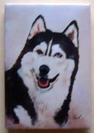 Dog Breed Full Backed Quality Magnet - Maystead - NEW SHU10