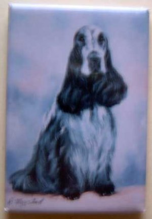 Dog Breed Full Backed Quality Magnet - Maystead - NEW SPE2
