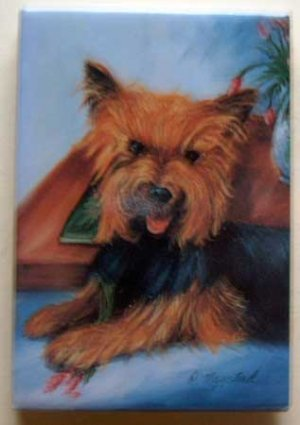 Dog Breed Full Backed Quality Magnet - Maystead - NEW YOR7