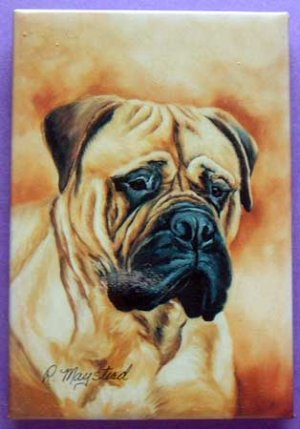 Dog Breed Full Backed Quality Magnet - Maystead - NEW BLM5