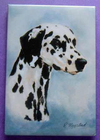 Dog Breed Full Backed Quality Magnet - Maystead - NEW DAL2