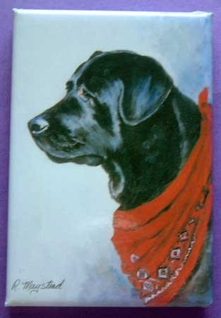 Dog Breed Full Backed Quality Magnet - Maystead - NEW RLA9