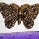Butterfly Moth Copper Oxide Jewelry Craft Altered Art Clay Mold Design