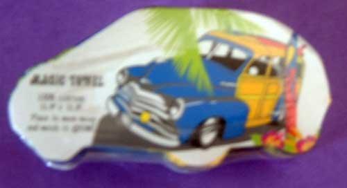 Woody Car Surf Board Magic Towel