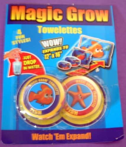 Magic Towellette Set/2 Starfish Fish