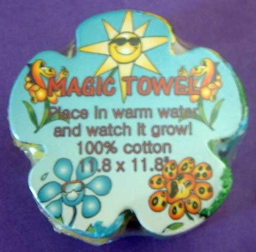 Flower Power Magic Towel