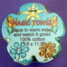 Flower Power Magic Towel