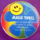 Smiley Face Groovy Magic Towel
