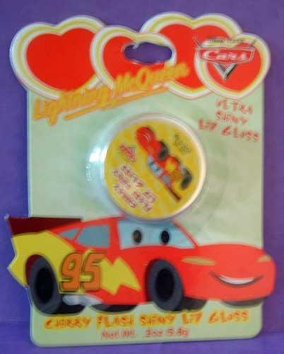 CARS Lightening McQueen Cherry Flash Lip Gloss Disney Pixar NIP