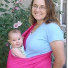 Hot pink: Stretch twill baby sling