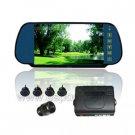 7 inch Universal Rearview LCD Monitor Parking Sensor Car Monitor Reverse Camera