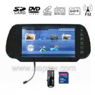 7- inch Car Rearview Monitor Support Native 32 Bit Games and Bluetooth