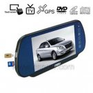 7 inch Car Rearview Monitor With Touch Screen and MP5 Function