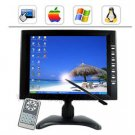 10.4 inch Touchscreen LCD Monitor Rear View Monitor w/ VGA POS Retail Solution Remote