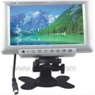 7 inch Stand-alone TFT LCD Monitor Built-In LCD Clock Display