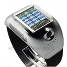 Tri-band Bluetooth Camera Watch Cell Phone 1.3mega Pixel Supports 2GB memory card