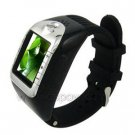 Black Touch Screen Watch Phone With Bluebooth