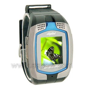 Watch Phone With Dual SIM Card & Camera & Bluetooth