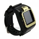New Tri-band 1.3- inch TFT Touch Screen Watch Phone with 1.3 Megapixel Camera and Stereo Bluetooth H