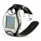 Cheap Quad-band GSM Watch Phone with 1.3 MP Camera and 1.4 inch Touch Screen + MP3 / MP4 Player Blue