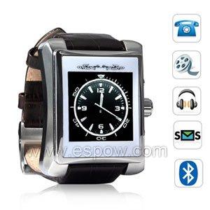 Suave Cellphone Phone Watch-Unlocked OLED Screen Multimedia Premium Watchphone